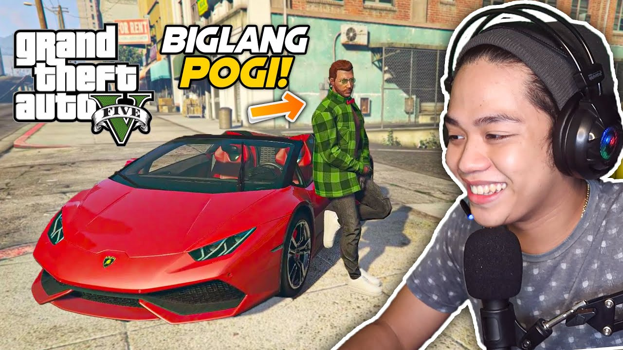 Surprising GTA 5 Online Player with Lamborghini SUPERCAR!! | Billionaire City