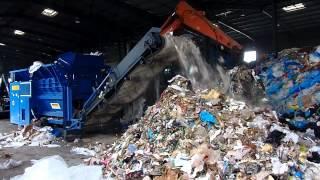 Дробилка отходов - ТБО, КГМ Husmann HL I 1222(, 2015-09-11T10:50:50.000Z)