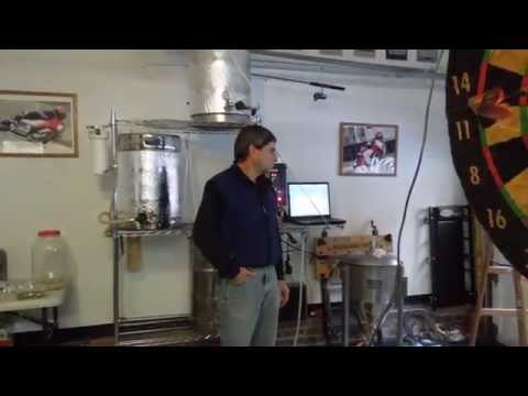 Sleepy Creek IPA brewing (all grain India Pale Ale) with the electric RIMS system.