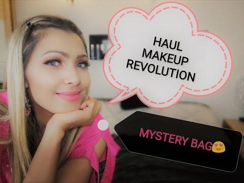 #HAUL MAKEUP REVOLUTION#MYSTERY BAG😍