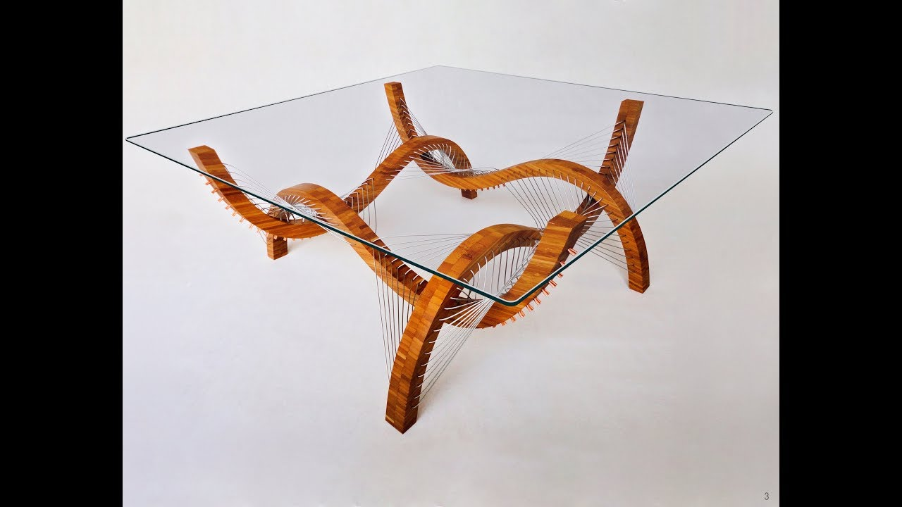 Making Tension Based Furniture Robby Cuthbert Design