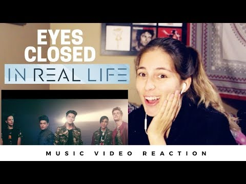 In Real Life - Eyes Closed (Official Video) REACTION !