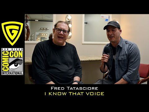 Fred Tatasciore  I Know That Voice  SDCC 2017  The Geek Generation
