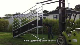 Kiwi Cattle Yards Lifestyle Series Loading Ramp