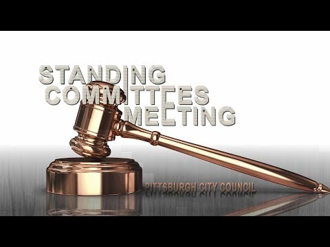 Pittsburgh City Council Standing Committees - 4/24/19