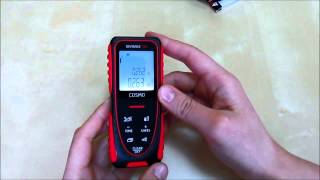 видео Лазерный дальномер ADA COSMO 150