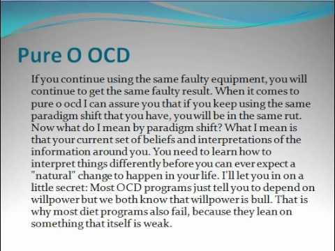 Pure o OCD - YouTube