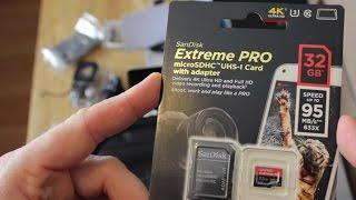 SanDisk Extreme Pro microSDHC 32   Die schnellste Micro SD der Welt    TheAskarum
