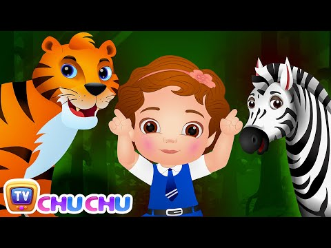 Thumbnail: Going To the Forest (SINGLE) | Wild Animals for Kids | Original Nursery Rhymes & Songs by ChuChu TV