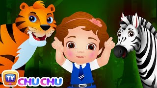 Going To The Forest Single | Wild Animals For Kids | Original Nursery Rhymes & Songs By Chuchu Tv