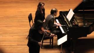 """Kavakos/Pace - Sonata No. 9 in A Major, Opus 47 """"Kreutzer"""" - 1. Adagio sostenuto - Presto - Adagio"""