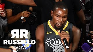 Did Kevin Durant make fake Twitter account The Ryen Russillo Show ESPN