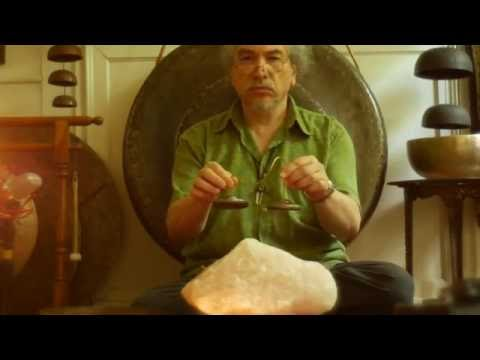Rose Quartz Meditation~30 min~w/Antique Tibetan Singing Bowl