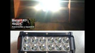 BARRA LED 6 PULGADAS 36W CREE LED BAR