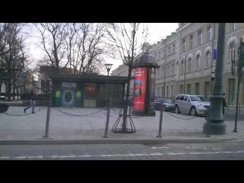 Weather in Vilnius, Lithuania, 2010-03-31, temperature - plus 15 C from Oras TV