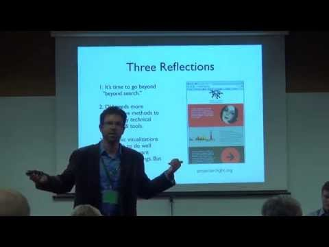 HASTAC 2015 - #10 -  The Material Turn and The Digital Archive