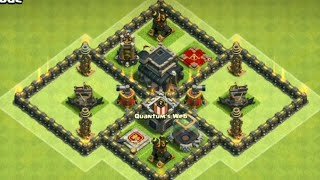 Th9 Best Defense Base Clash of clan 2018 | Coc Th9 best base | Trophy Base| War Base