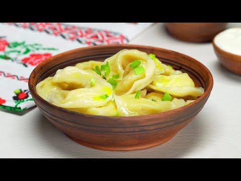 Смачные вареники с картошкой и жареным луком. Рецепт от Всегда Вкусно!