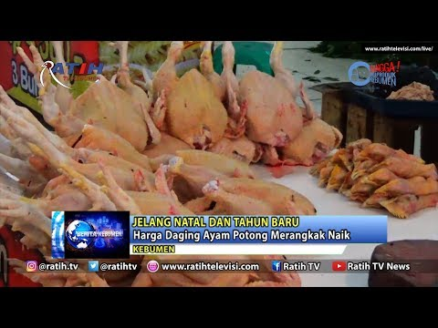 Harga Daging Ayam Potong Merangkak Naik Jelang Natal dan Tahun Baru Mp3