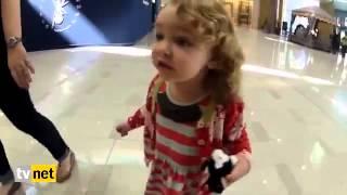 حیرت دختربچه آمریکایی از شنیدن صدای اذان