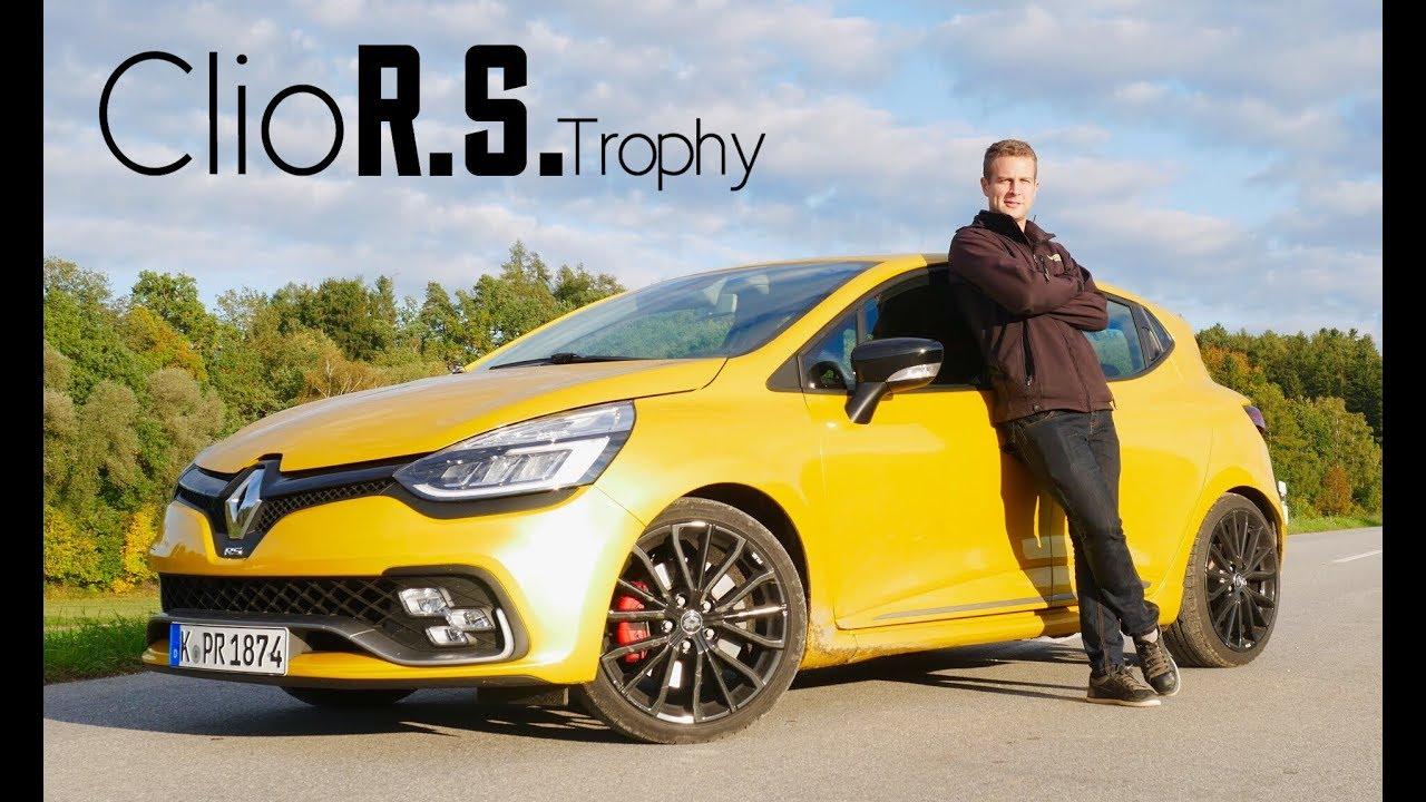2017 Renault Clio R S Trophy Full Review Und Fahrbericht Fahr Doch Hd