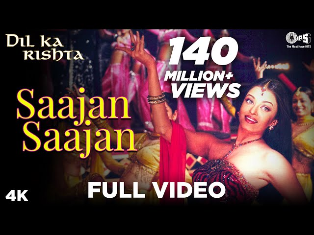 Saajan Saajan - Dil Ka Rishta - Arjun Rampal & Aishwarya Rai - Full Song Travel Video