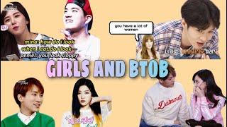 girls and btob
