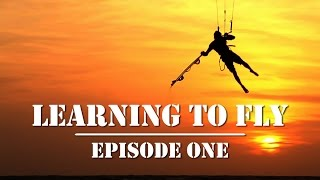 Learning To Fly. How to jump kiteboarding tutorial.
