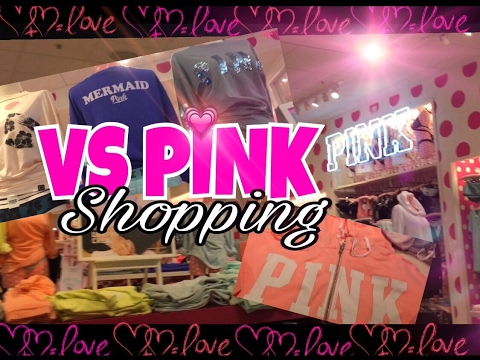 VICTORIA'S SECRET PINK SHOPPING | SPRING 2017