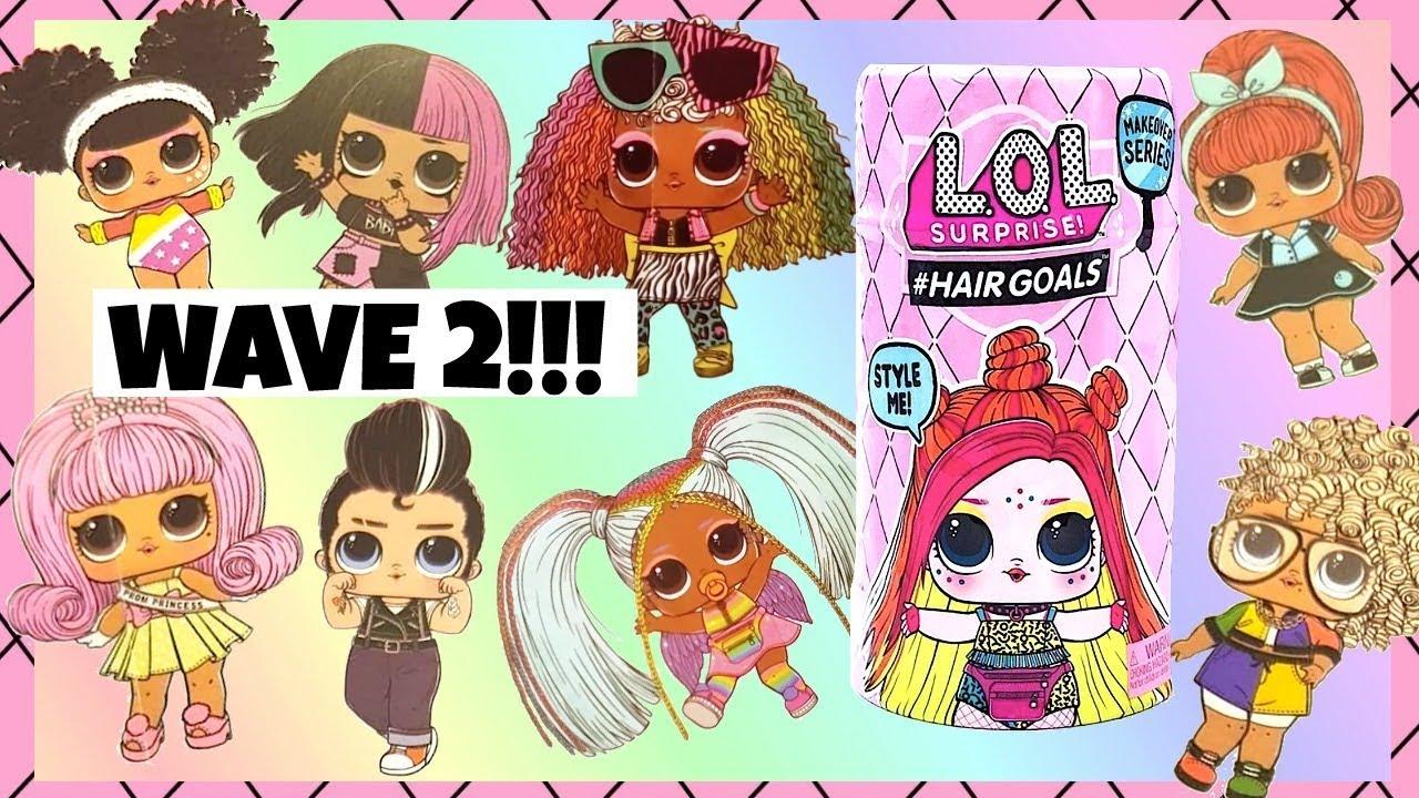 LOL Surprise Hairgoals Wave 2 Full Set Checklist Revealed ...