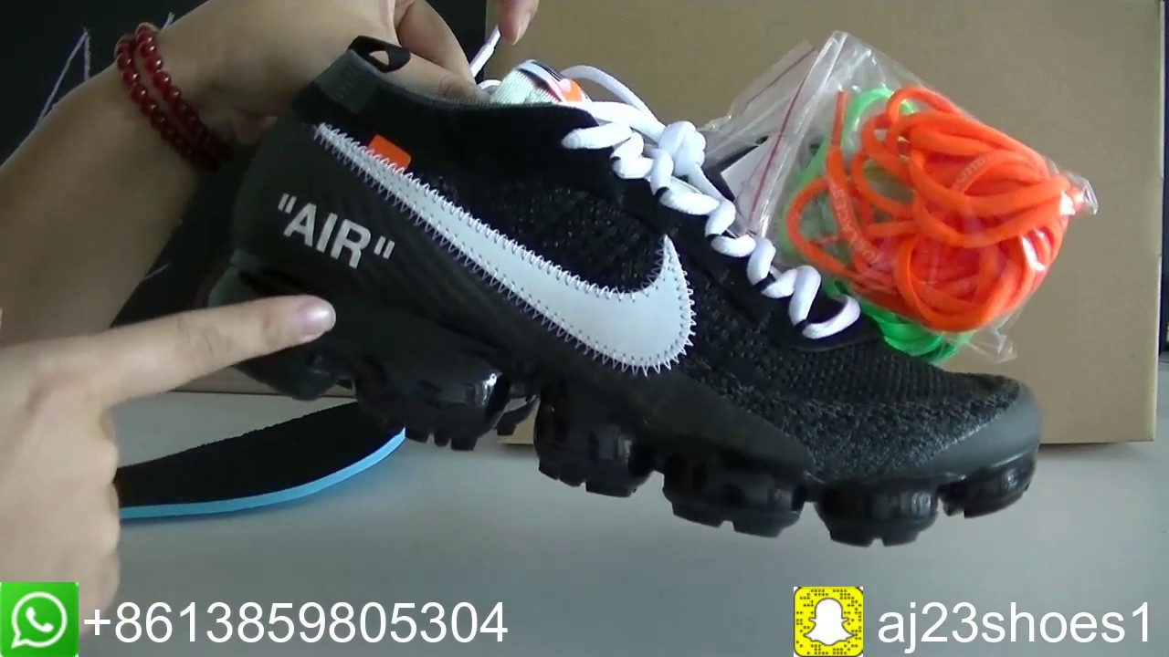1a54cf89a03af Off-White Nike Air VaporMax with original box HD Review from aj23shoes.com