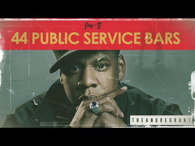 Jay-Z - 44 Public Service Bars | Logic - 44 Bars (THEANDREGRANT Remix)