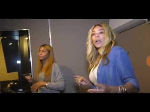 Suddenly Wendy: Wendy Visits Tamar's In Home Studio