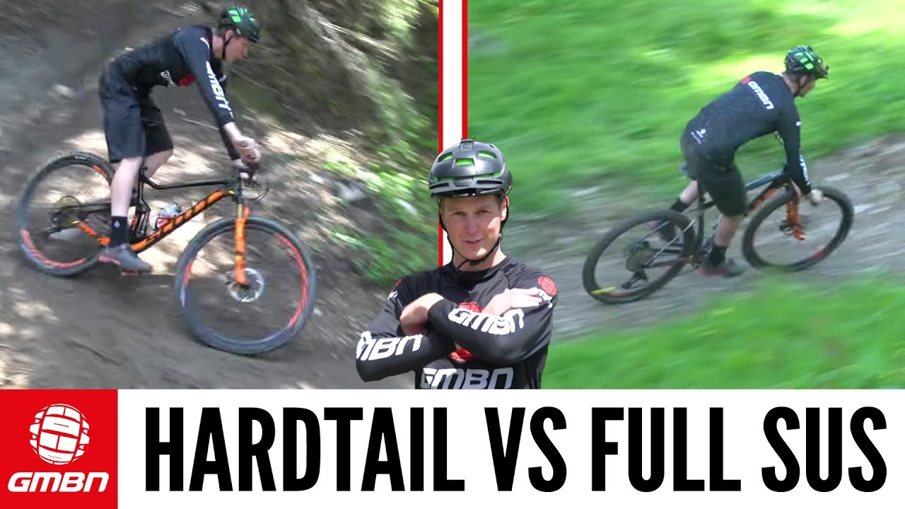 hardtail vs full suspension mountain bike what is. Black Bedroom Furniture Sets. Home Design Ideas