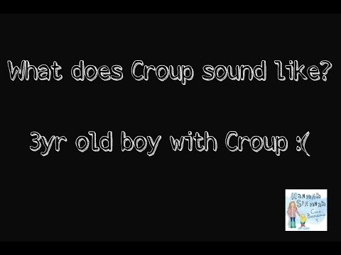 What does Croup sound like?