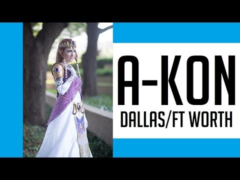 THIS IS A-KON 2017 DALLAS FORT WORTH COSPLAY MUSIC VIDEO DJI OSMO PRO MAVIC PRO CANON G7X