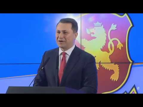 Conservative Nikola Gruevski Declares Victory in Macedonia's Snap Elections