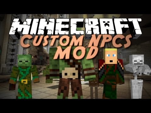 Custom NPCs Mod for Minecraft 1 12 2/1 11 2 | MinecraftSix