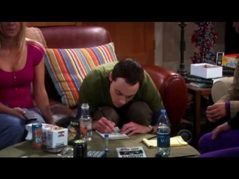 The Big Bang Théory - Sheldon play Boggle Klingon