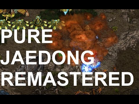 Pure (P) v Jaedong (Z) on Fighting Spirit - StarCraft  - Brood War REMASTERED