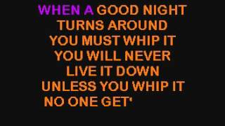 SC7203 05   Devo   Whip It [karaoke]