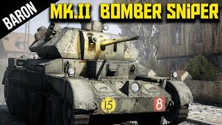 Bomber Sniper British Cruiser A13 Mk.II - War Thunder 1.53 British Tanks