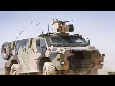Thales lands Dutch Army's Bushmaster armored vehicles support contract