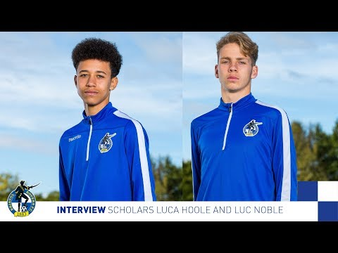 Interview: Scholars Luca Hoole and Luc Noble