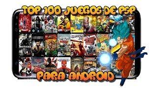 Top 100 : Mejores juegos para PPSSPP-Android 2019/+ link de descarga