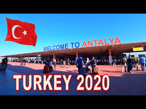 Airport Antalya & Duty Free. TURKEY 2020
