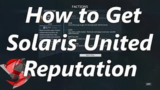 Farming Solaris United Reputation
