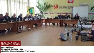 VIII sesja Rady Miejskiej w Łasku cz. 2