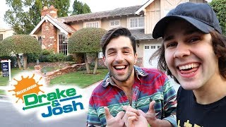vuclip SURPRISING JOSH WITH DRAKE AND JOSH HOUSE!!
