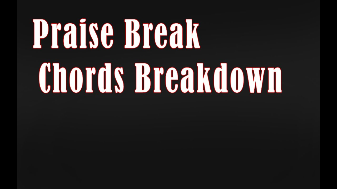 Ab Praise Break Chords Tutorial